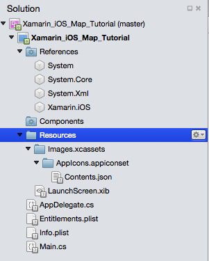Xamarin iOS project structure