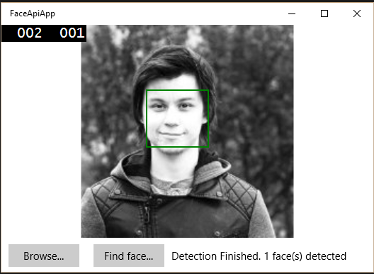 Face detected